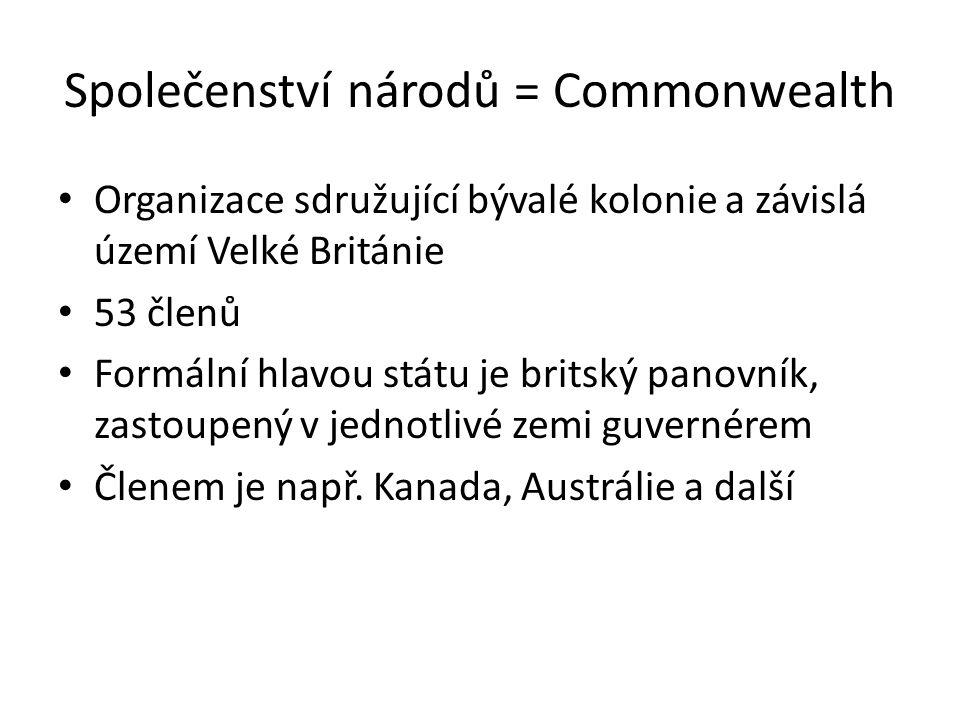 Společenství národů = Commonwealth