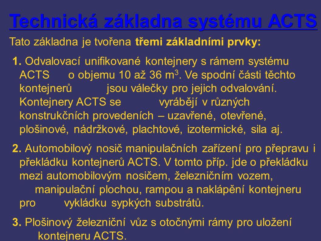 Technická základna systému ACTS