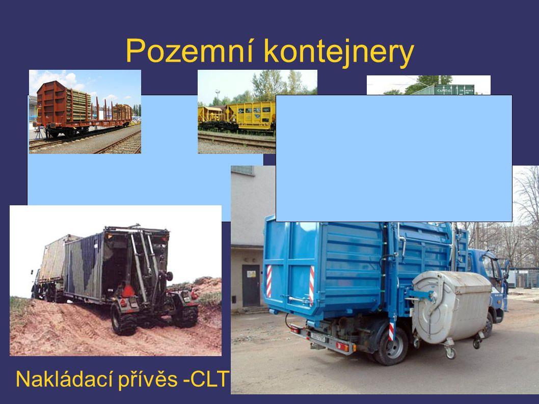 Pozemní kontejnery Nakládací přívěs -CLT