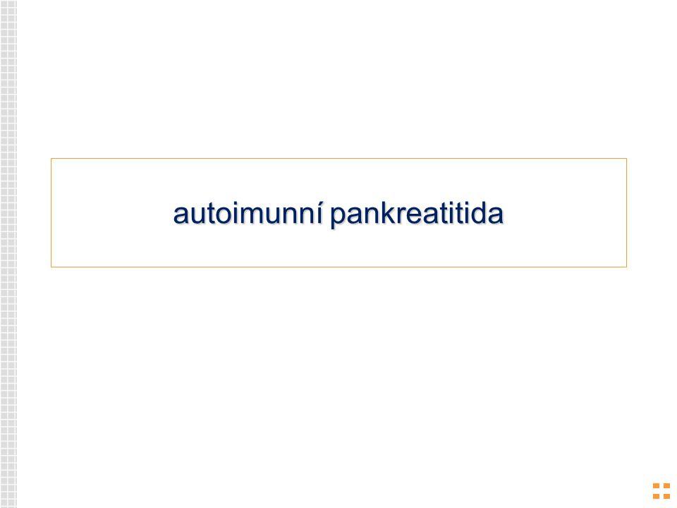 autoimunní pankreatitida