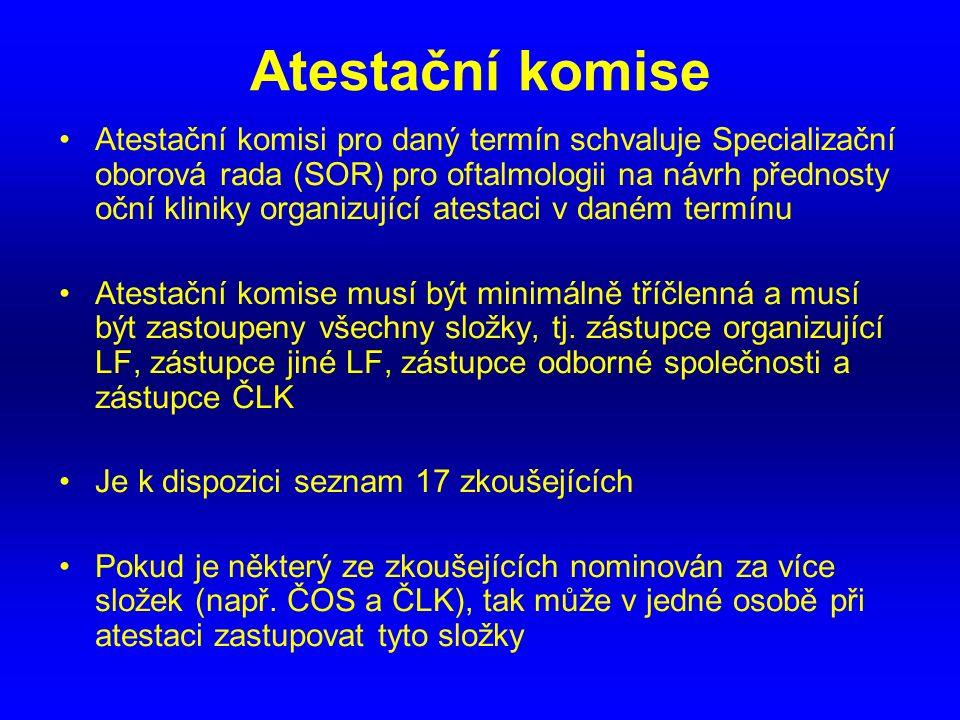 Atestační komise