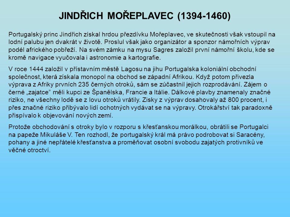 JINDŘICH MOŘEPLAVEC (1394-1460)