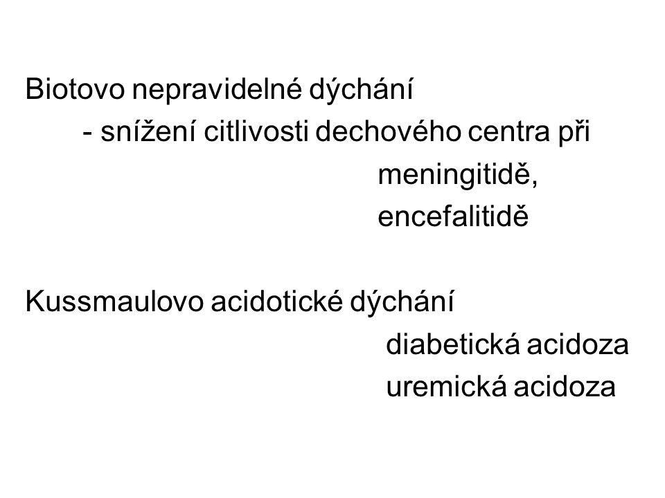 Biotovo nepravidelné dýchání