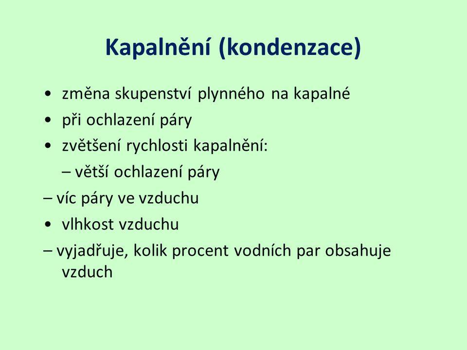 Kapalnění (kondenzace)