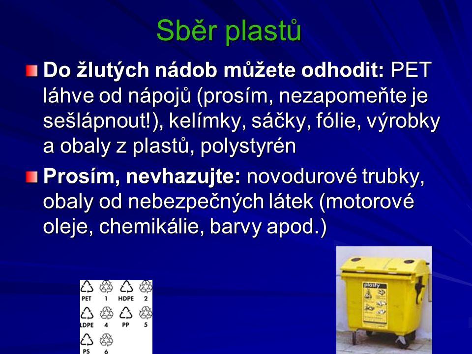 Sběr plastů