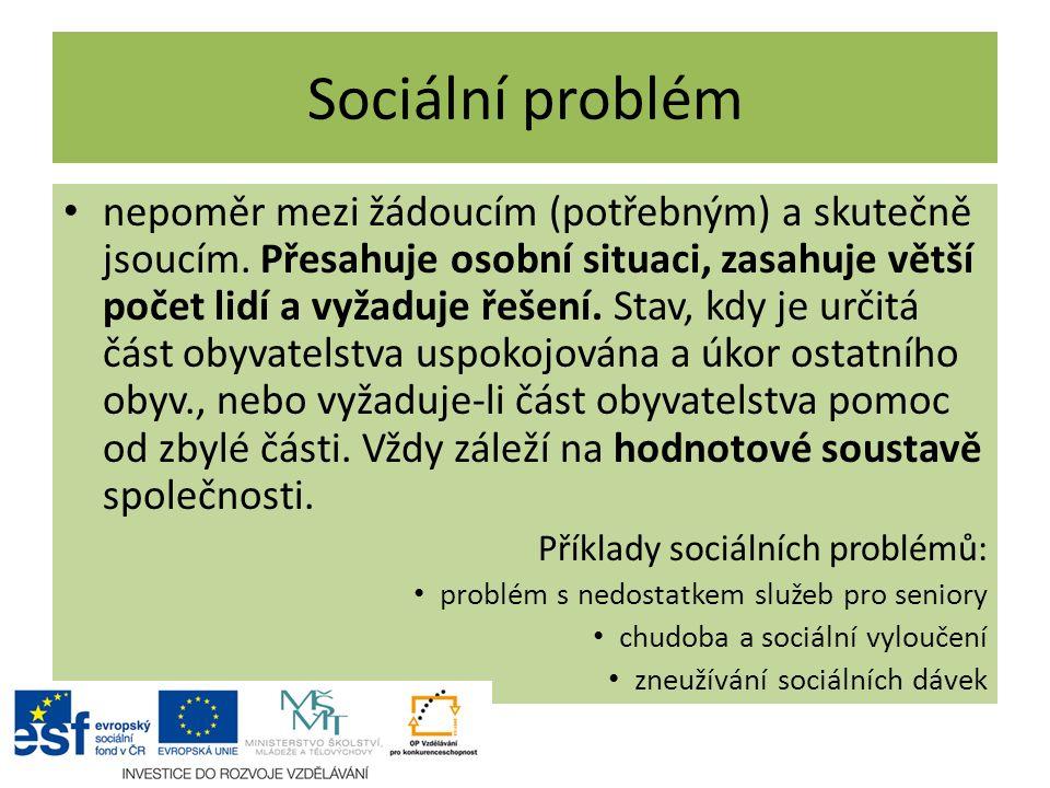 Sociální problém