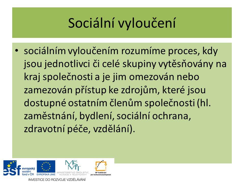 Sociální vyloučení