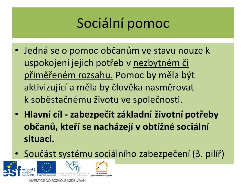 Sociální pomoc
