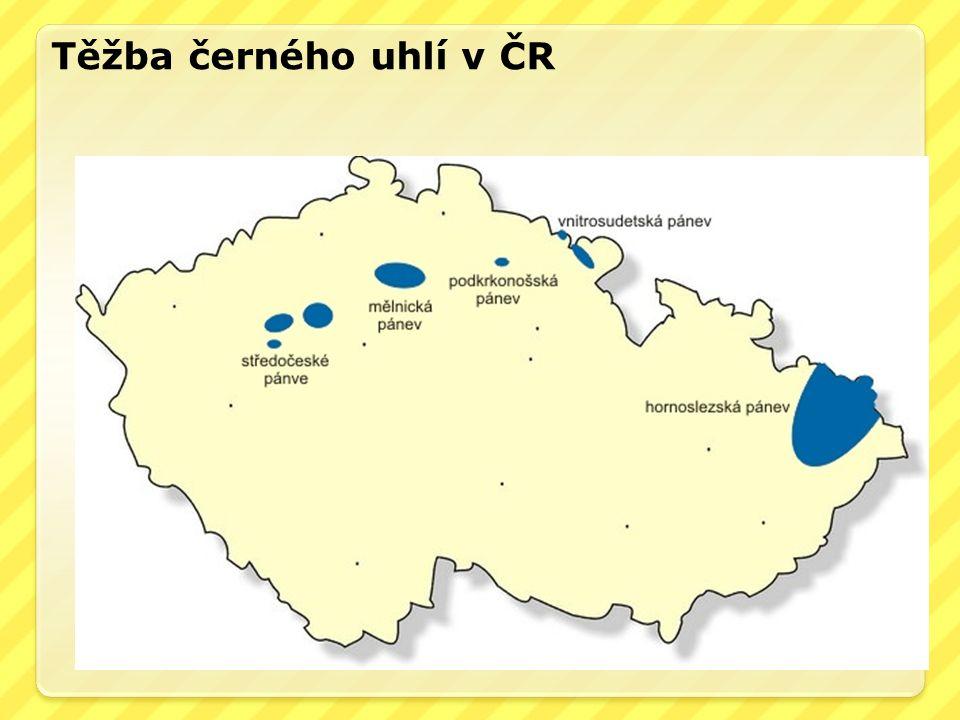 Těžba černého uhlí v ČR
