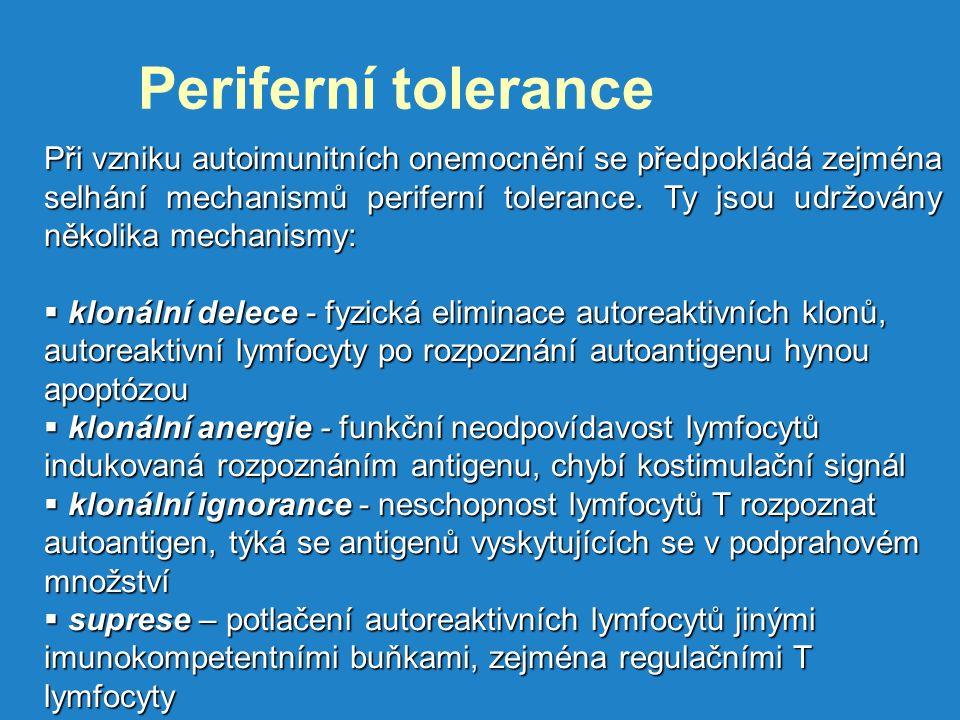 Periferní tolerance