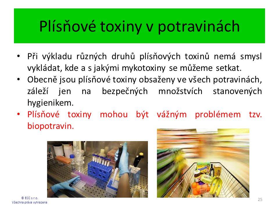 Plísňové toxiny v potravinách