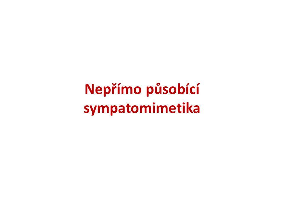 Nepřímo působící sympatomimetika