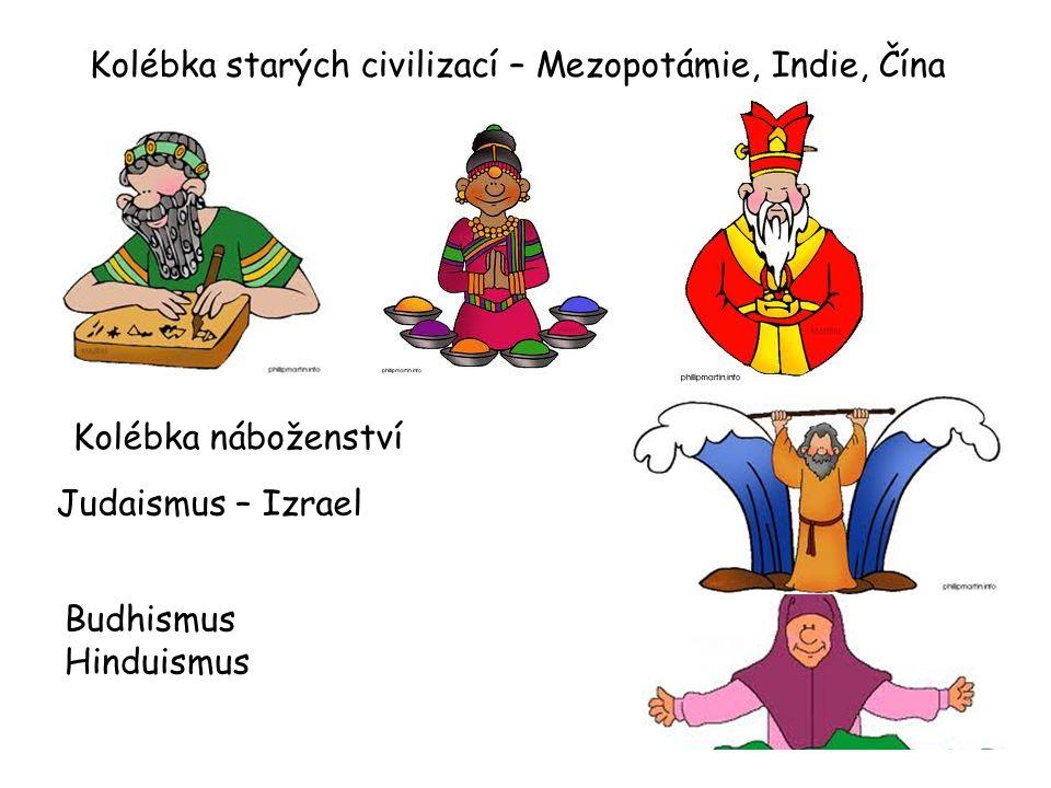 Kolébka starých civilizací – Mezopotámie, Indie, Čína