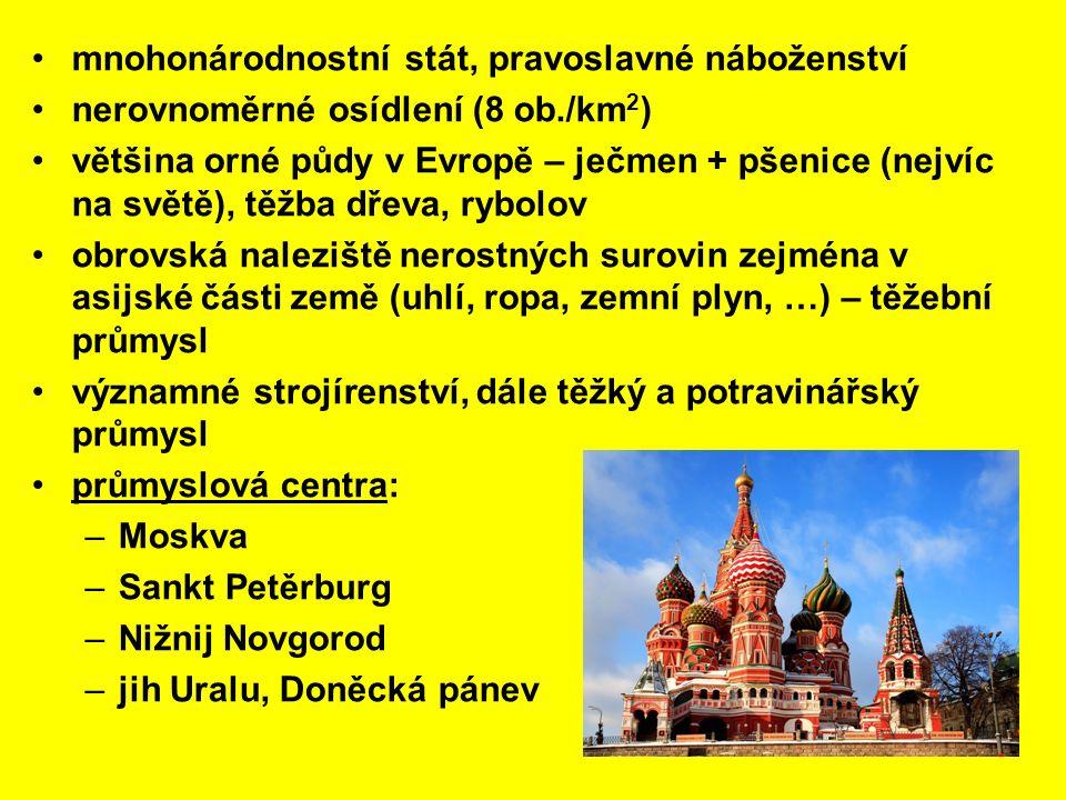 mnohonárodnostní stát, pravoslavné náboženství