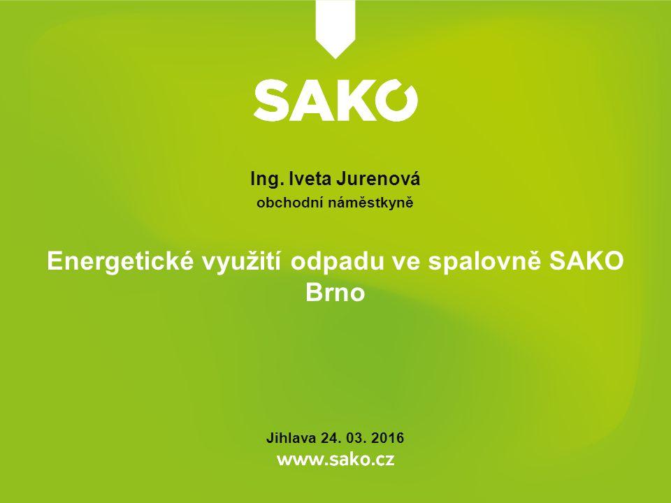 Energetické využití odpadu ve spalovně SAKO Brno