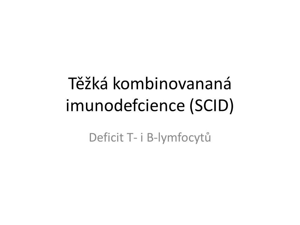 Těžká kombinovananá imunodefcience (SCID)