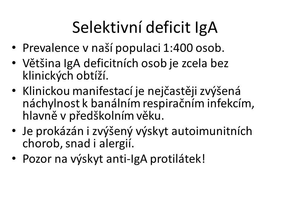 Selektivní deficit IgA