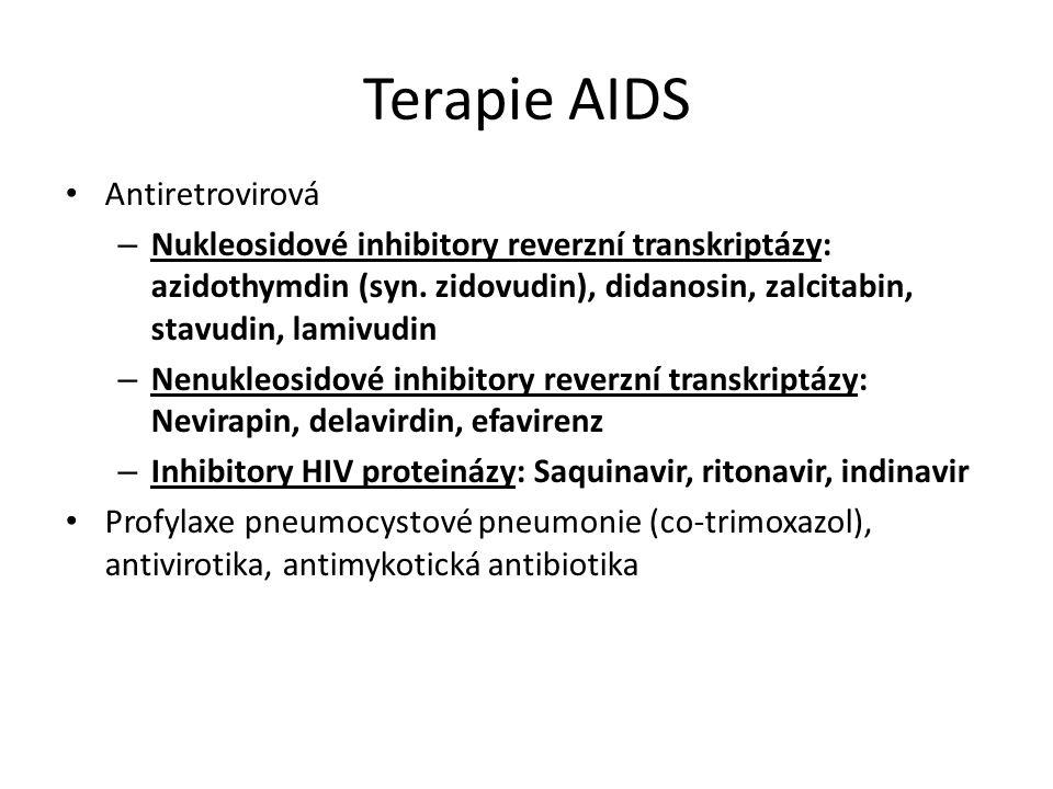 Terapie AIDS Antiretrovirová