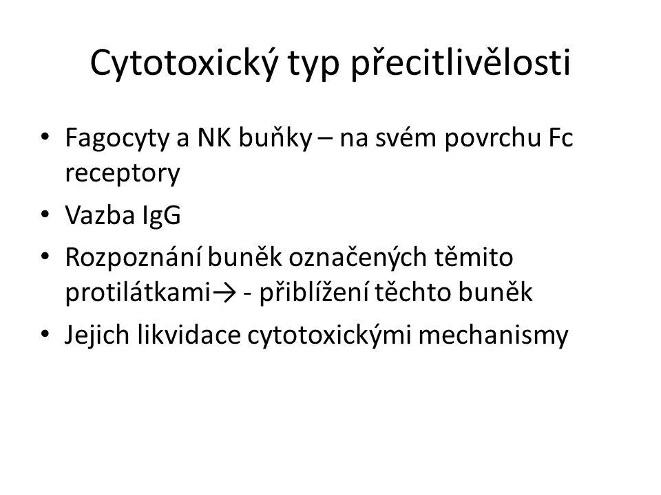 Cytotoxický typ přecitlivělosti