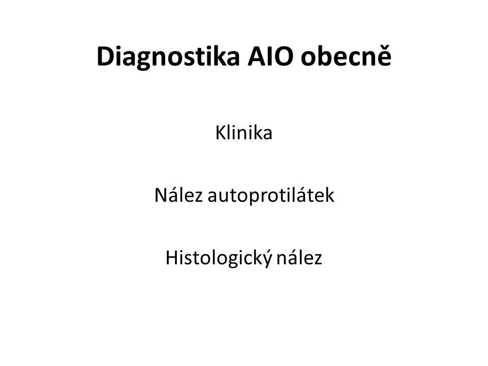 Diagnostika AIO obecně