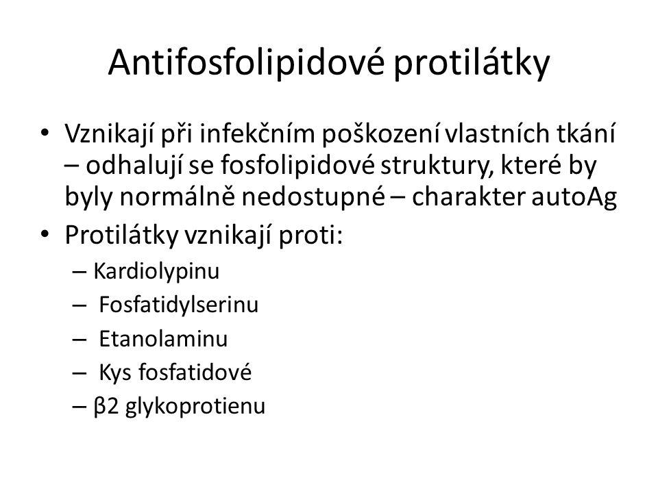 Antifosfolipidové protilátky