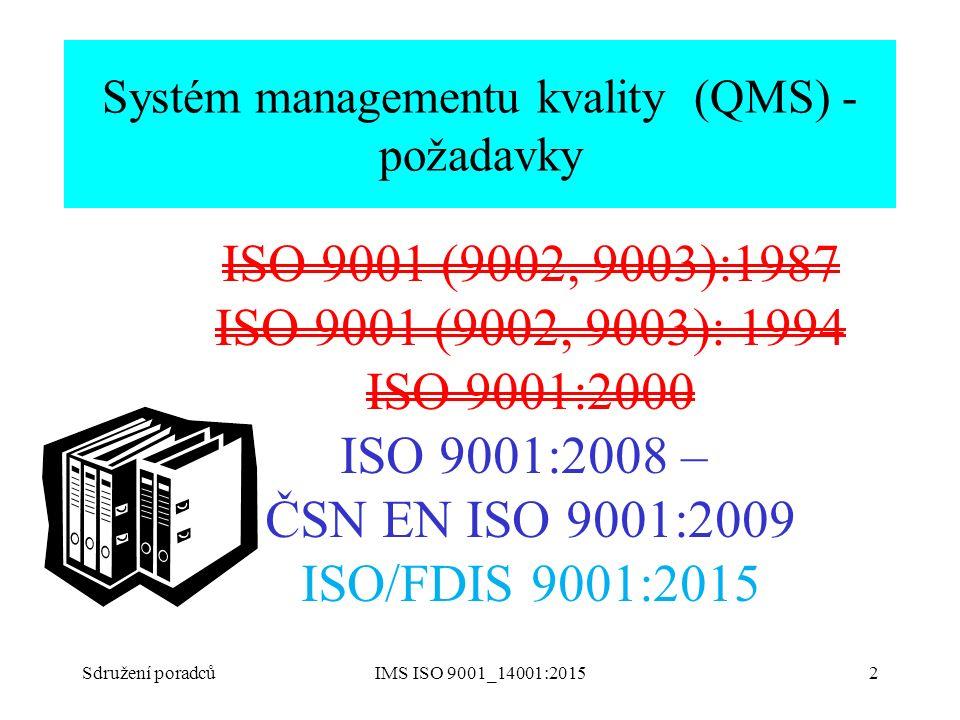 Systém managementu kvality (QMS) - požadavky