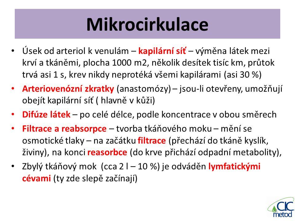 Mikrocirkulace