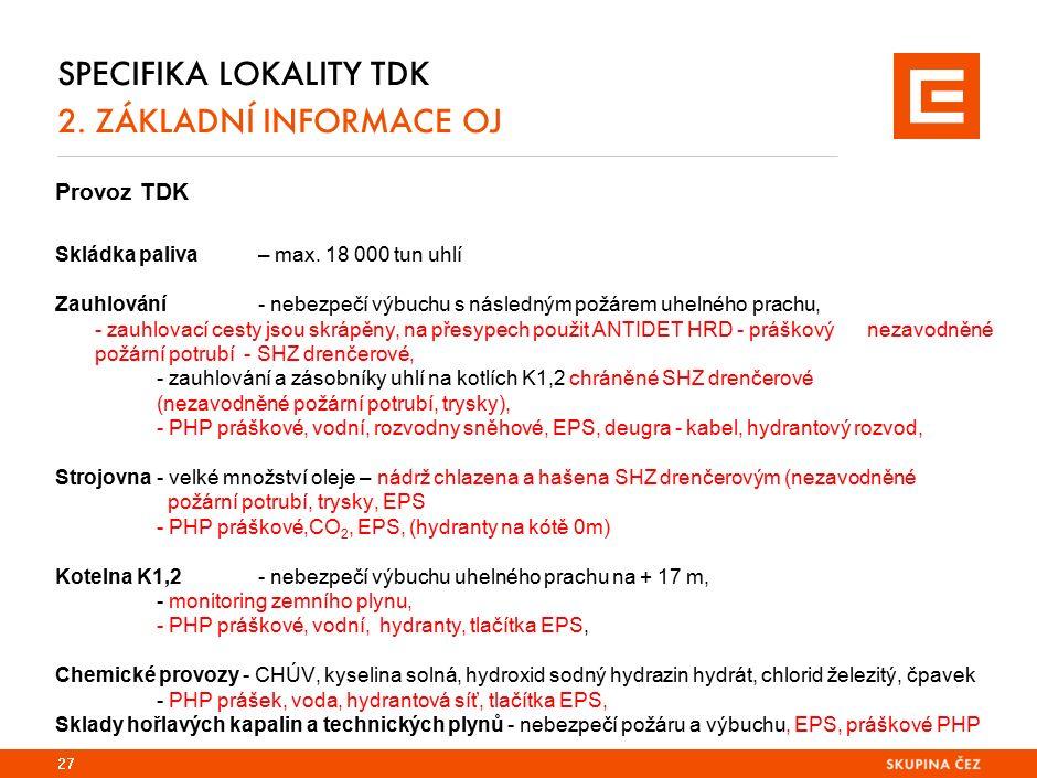 Specifika lokality EPO 2
