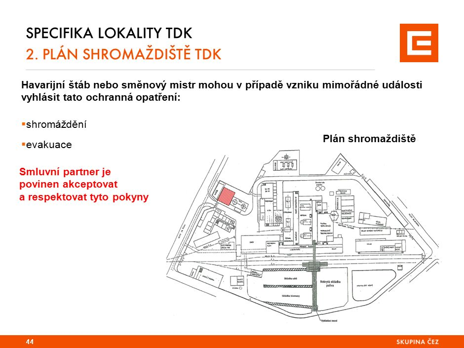 Specifika lokality EPO a TDK 2. důležitá telefonní čísla 
