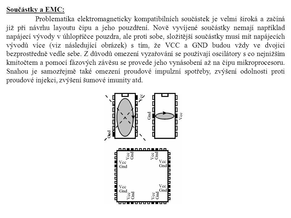 Součástky a EMC: