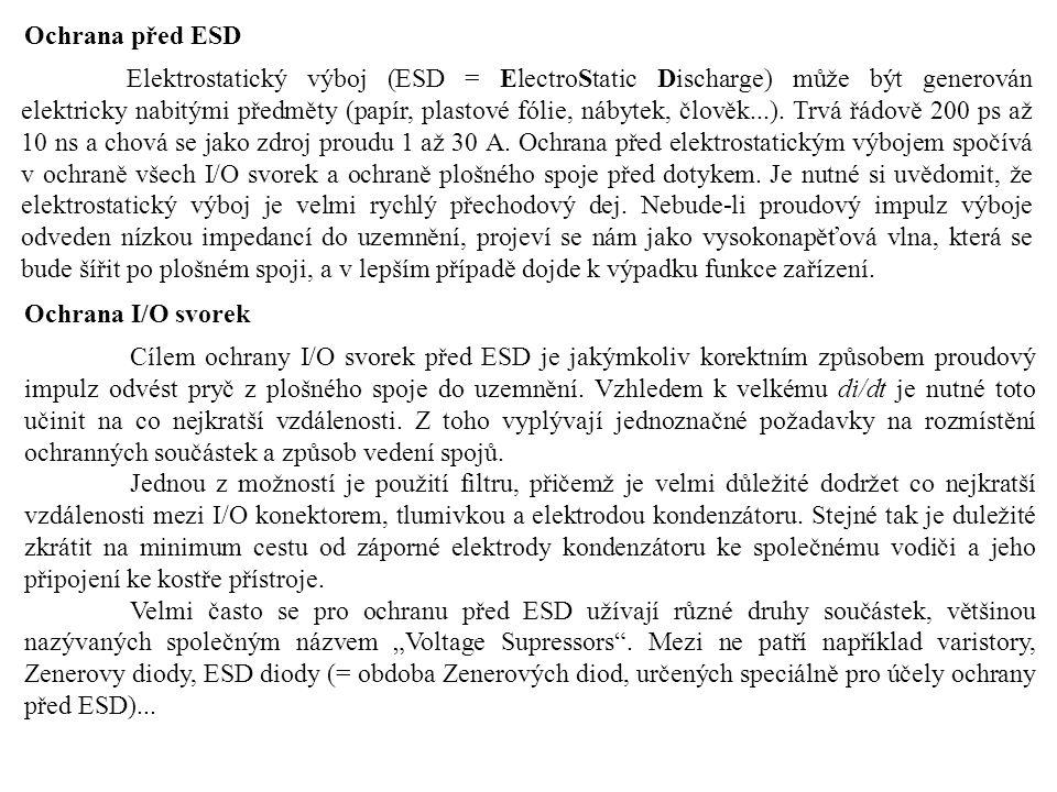 Ochrana před ESD