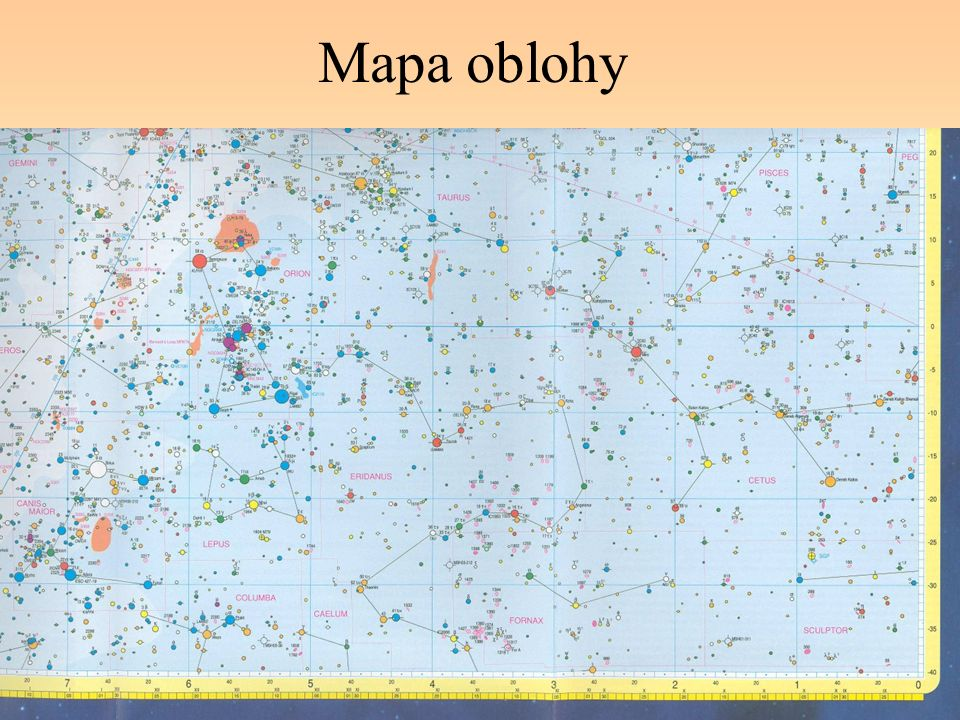 Mapa oblohy