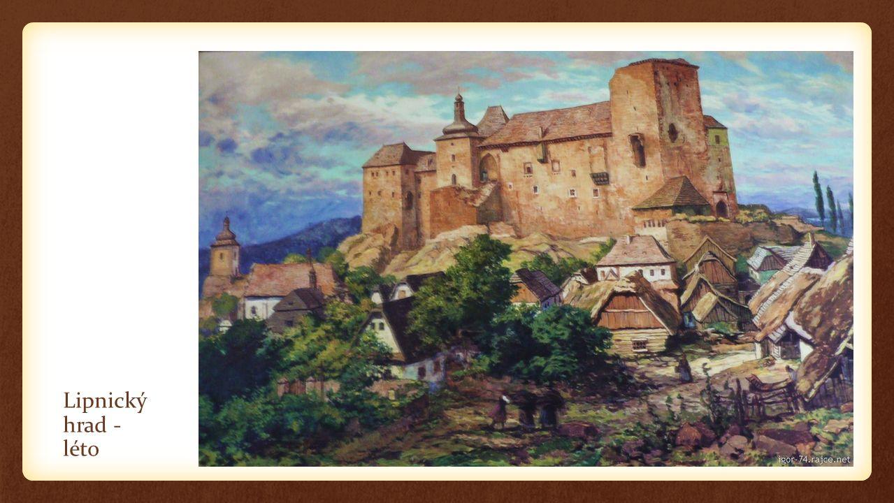 Lipnický hrad - léto