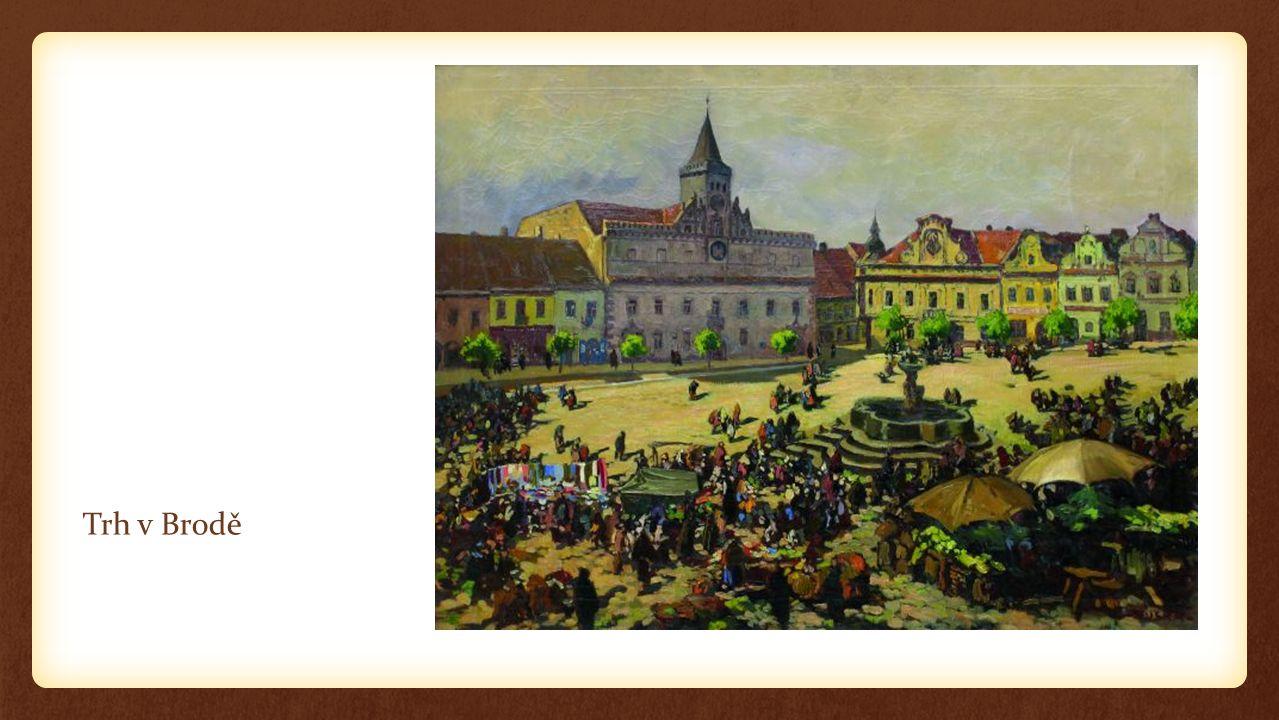 Trh v Brodě