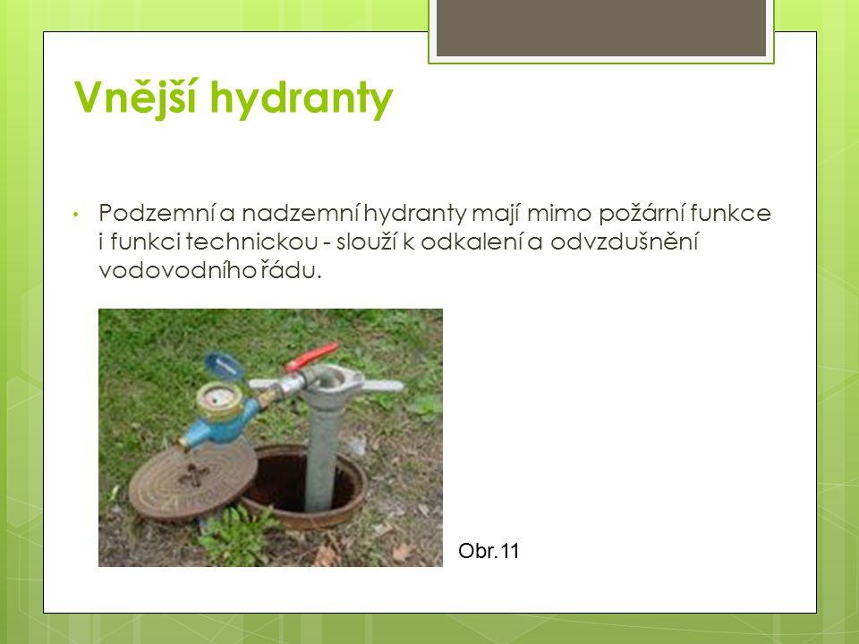 Vnější hydranty