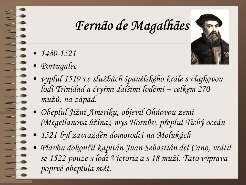 Fernão de Magalhães 1480-1521 Portugalec