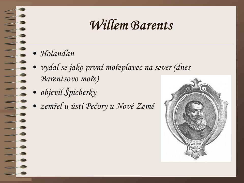 Willem Barents Holanďan