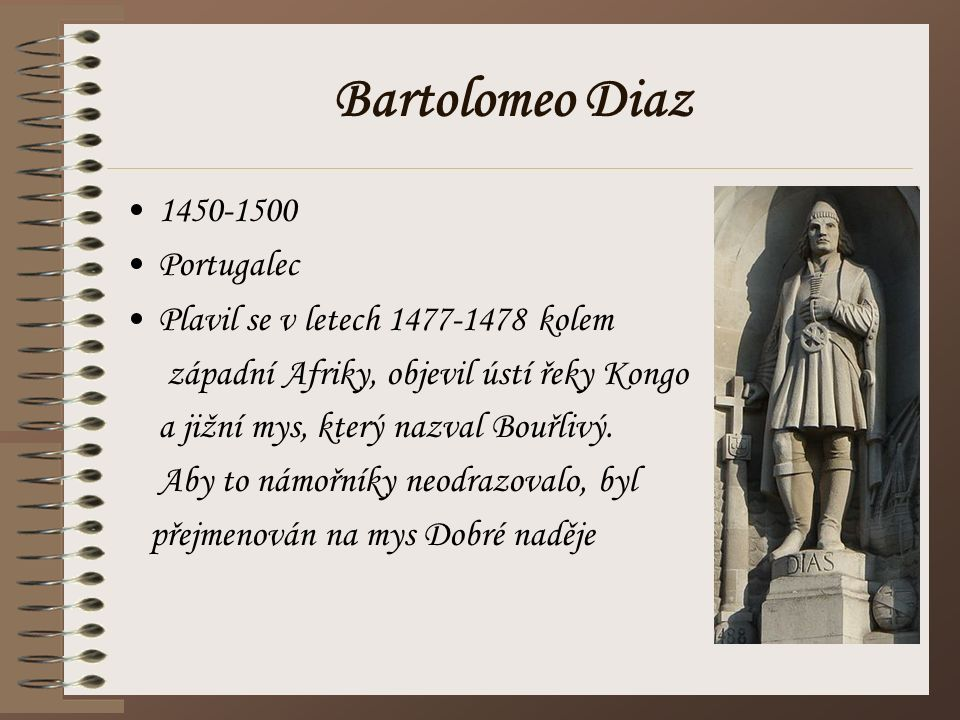 Bartolomeo Diaz 1450-1500 Portugalec