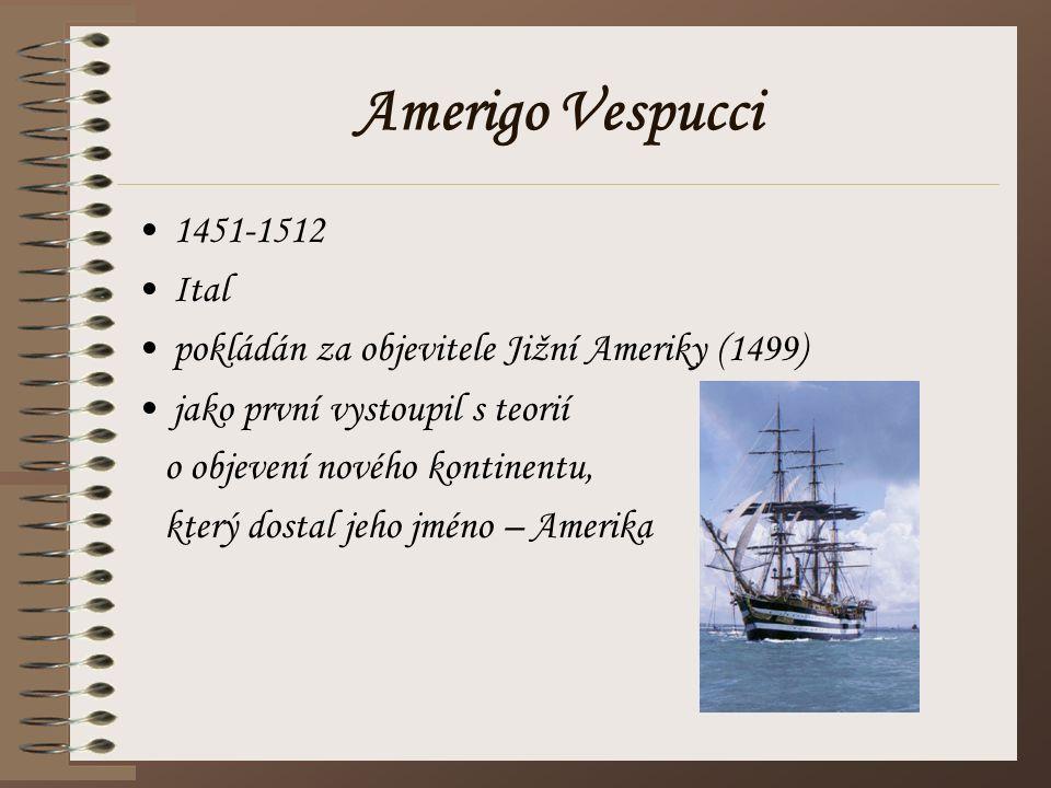Amerigo Vespucci 1451-1512 Ital