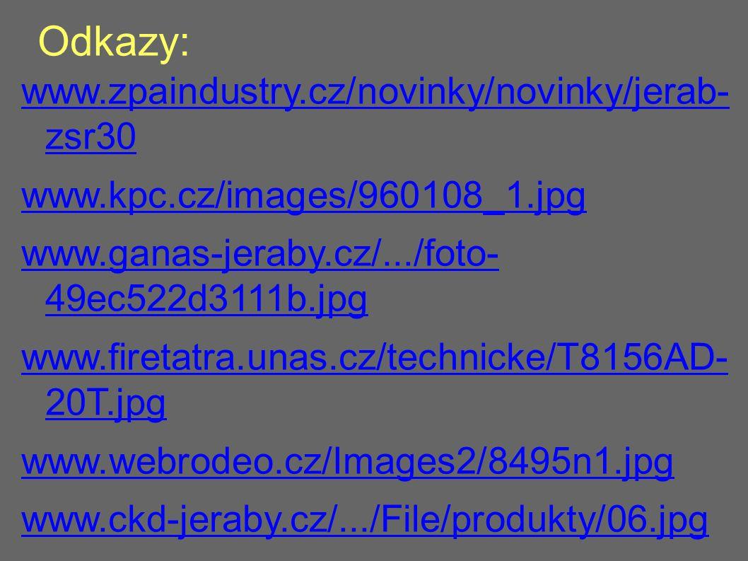 Odkazy: www.zpaindustry.cz/novinky/novinky/jerab- zsr30