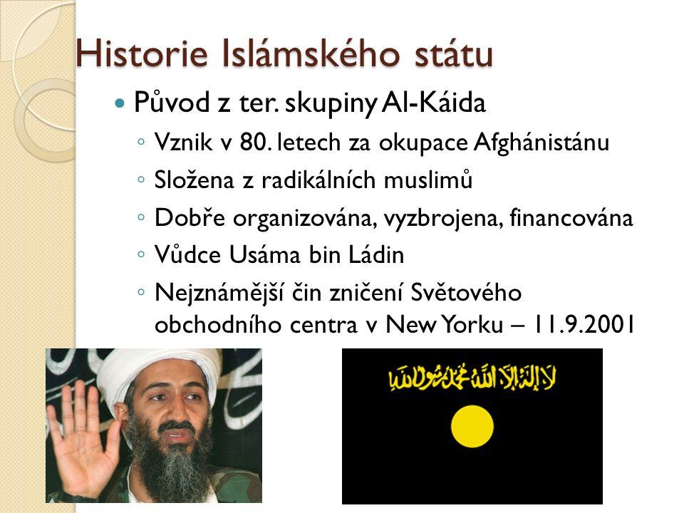 Historie Islámského státu