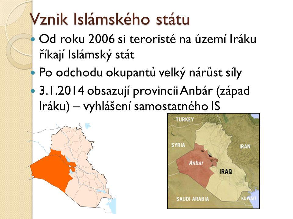 Vznik Islámského státu