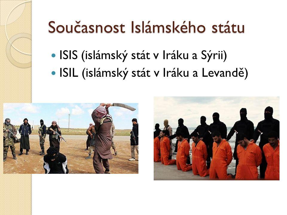 Současnost Islámského státu