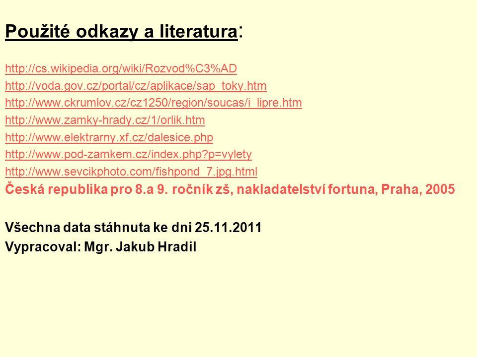 Použité odkazy a literatura: