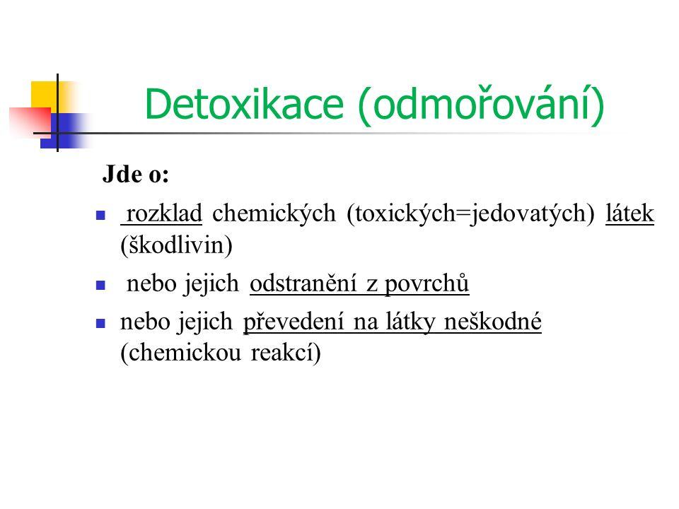 Detoxikace (odmořování)