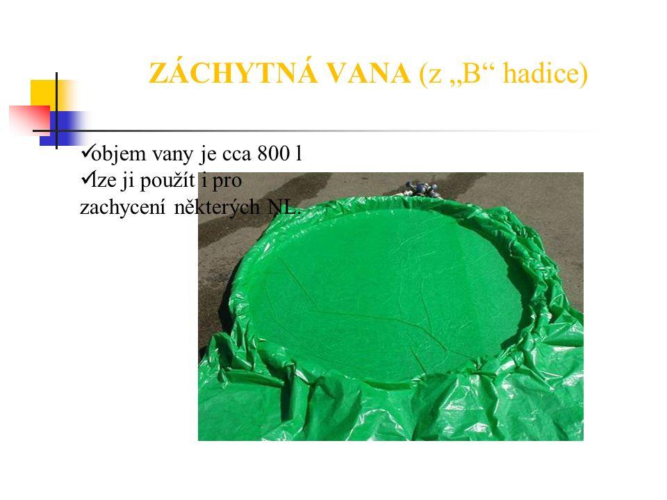 "ZÁCHYTNÁ VANA (z ""B hadice)"