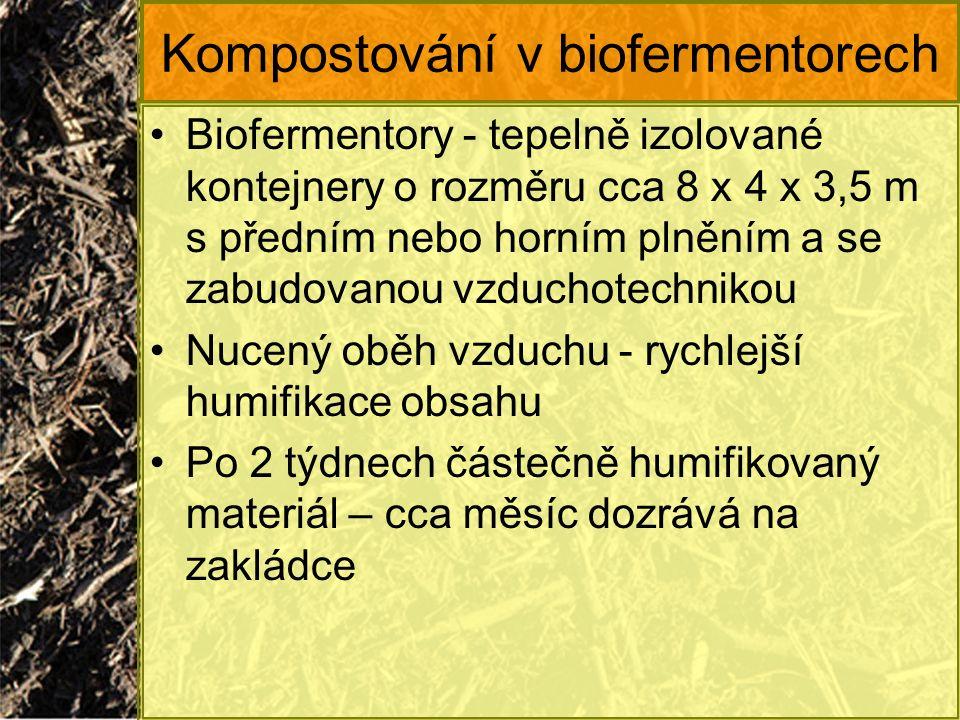 Kompostování v biofermentorech