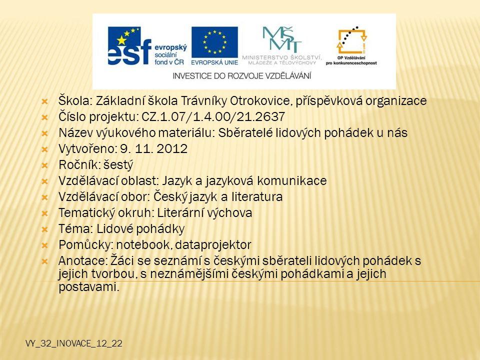 Škola: Základní škola Trávníky Otrokovice, příspěvková organizace