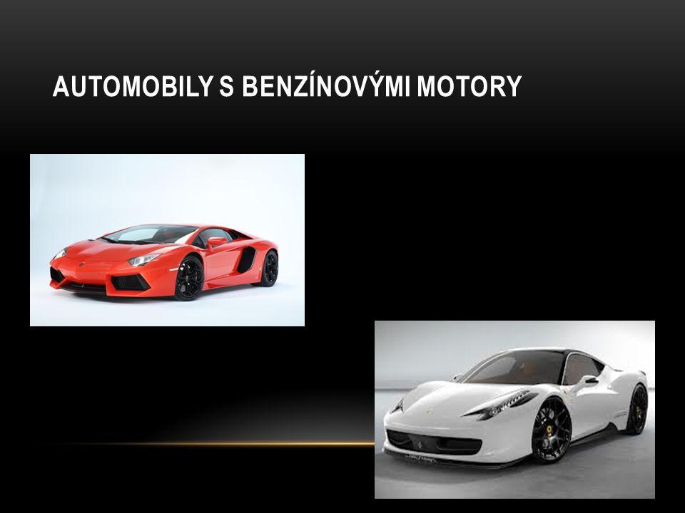 Automobily s benzínovými motory