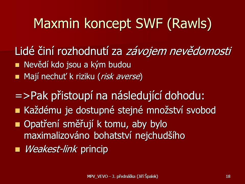 Maxmin koncept SWF (Rawls)